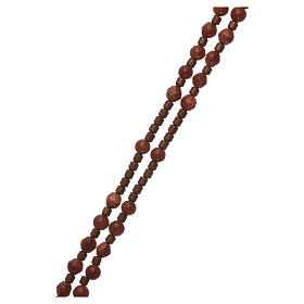 Rosary 925 silver with goldstone beads s3