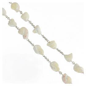Rosario plata 800 cruz filigrana perlas barrocas s3