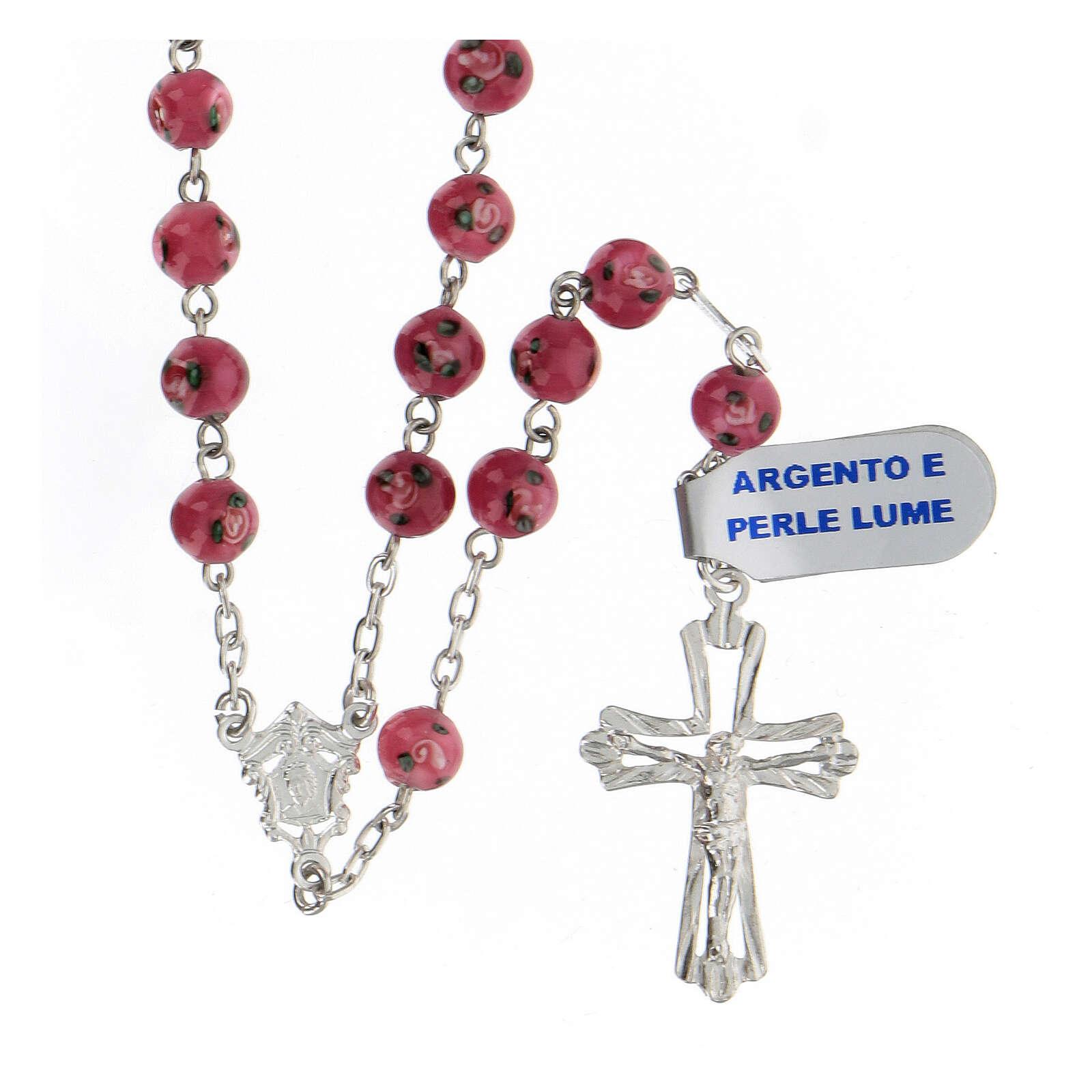 Chapelet argent 925 perles