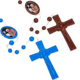 Rosario nylon immagine personalizzata 5 mm s1