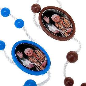 Rosario nylon immagine personalizzata 5 mm s4