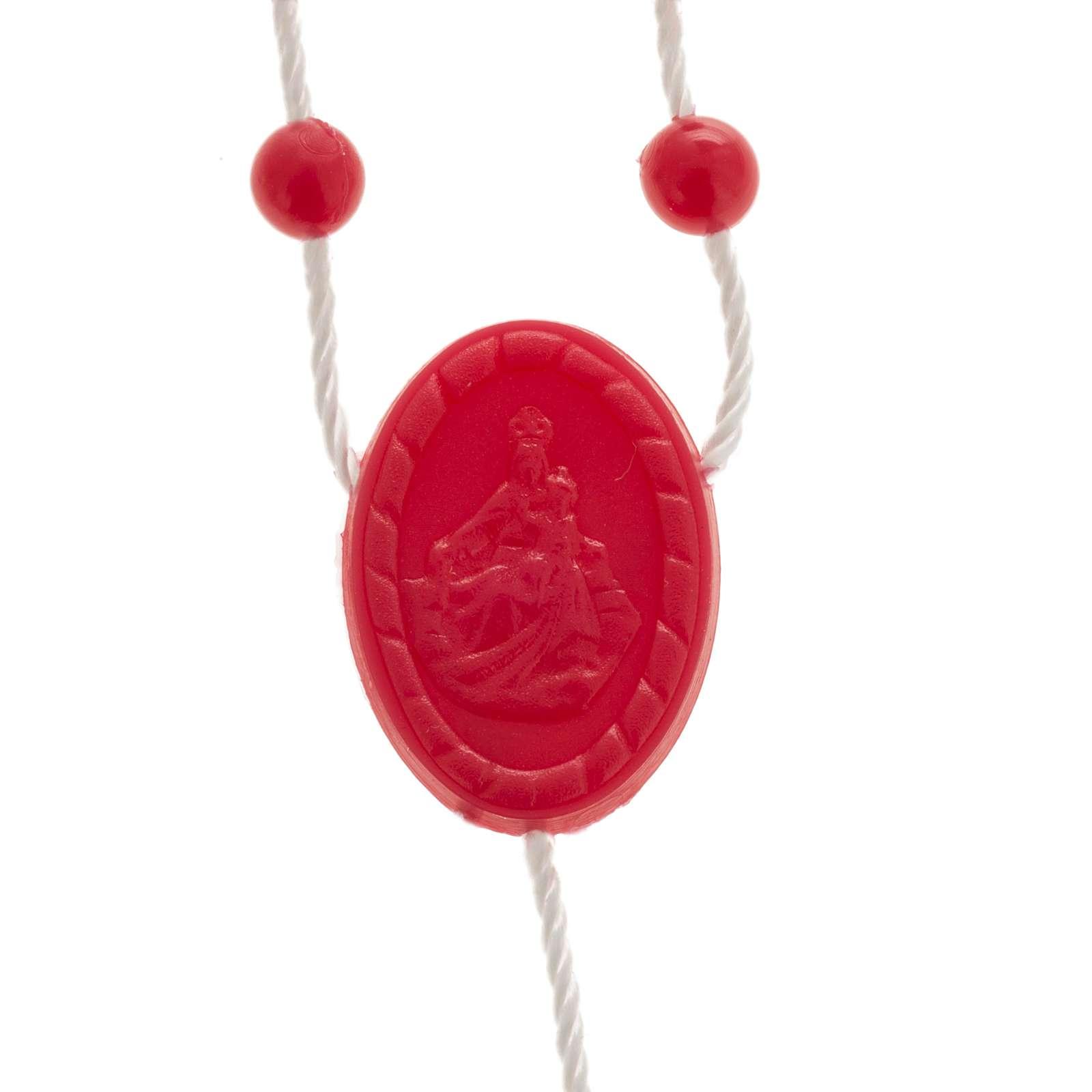 Chapelet nylon rouge 4