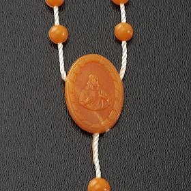 Rosario nylon arancione s4