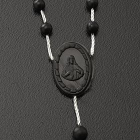 Black nylon rosary s3