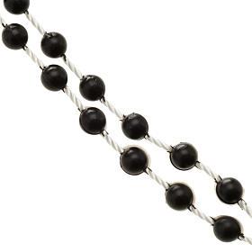 Black nylon rosary s4
