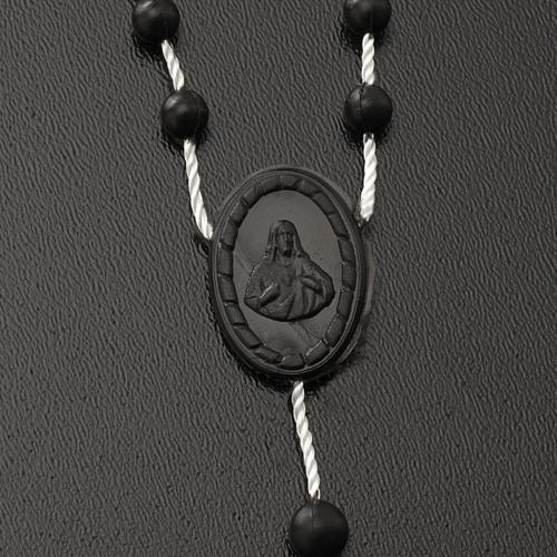Black nylon rosary 3