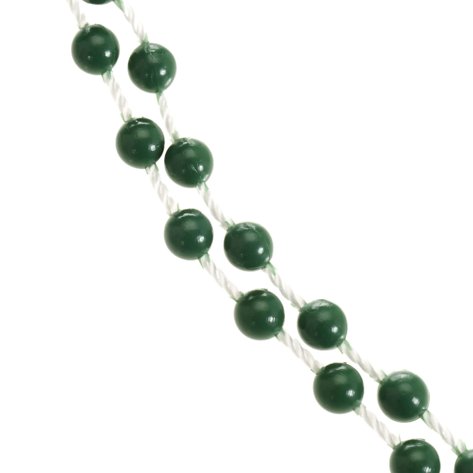 Chapelet nylon vert 4