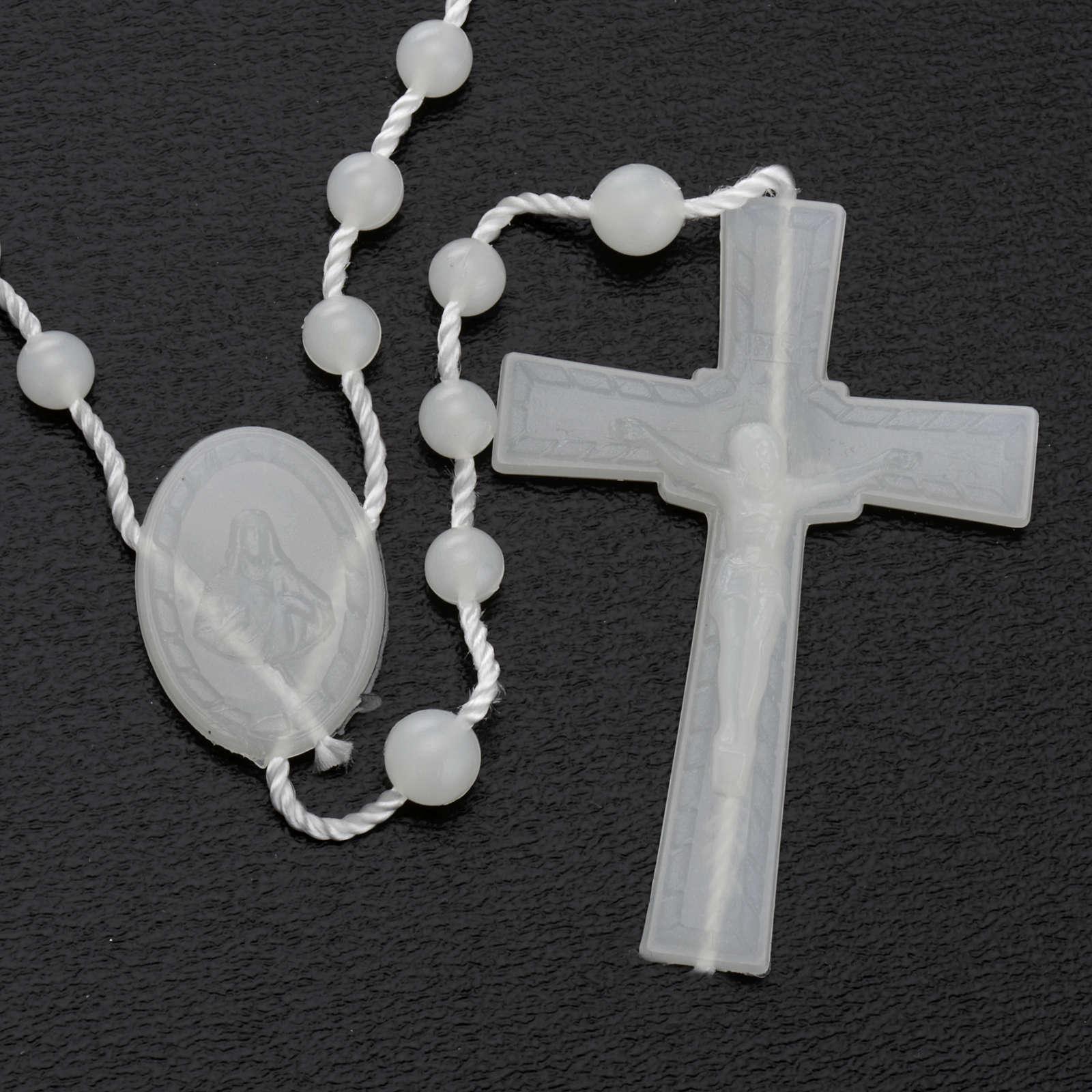 Fluorescent nylon rosary 4