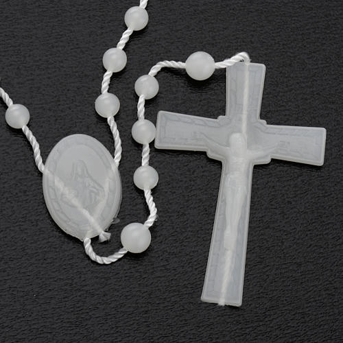 Fluorescent nylon rosary 3