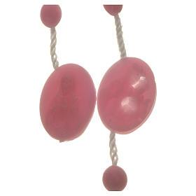 Rosario nylon rosa crocera apri e chiudi s4