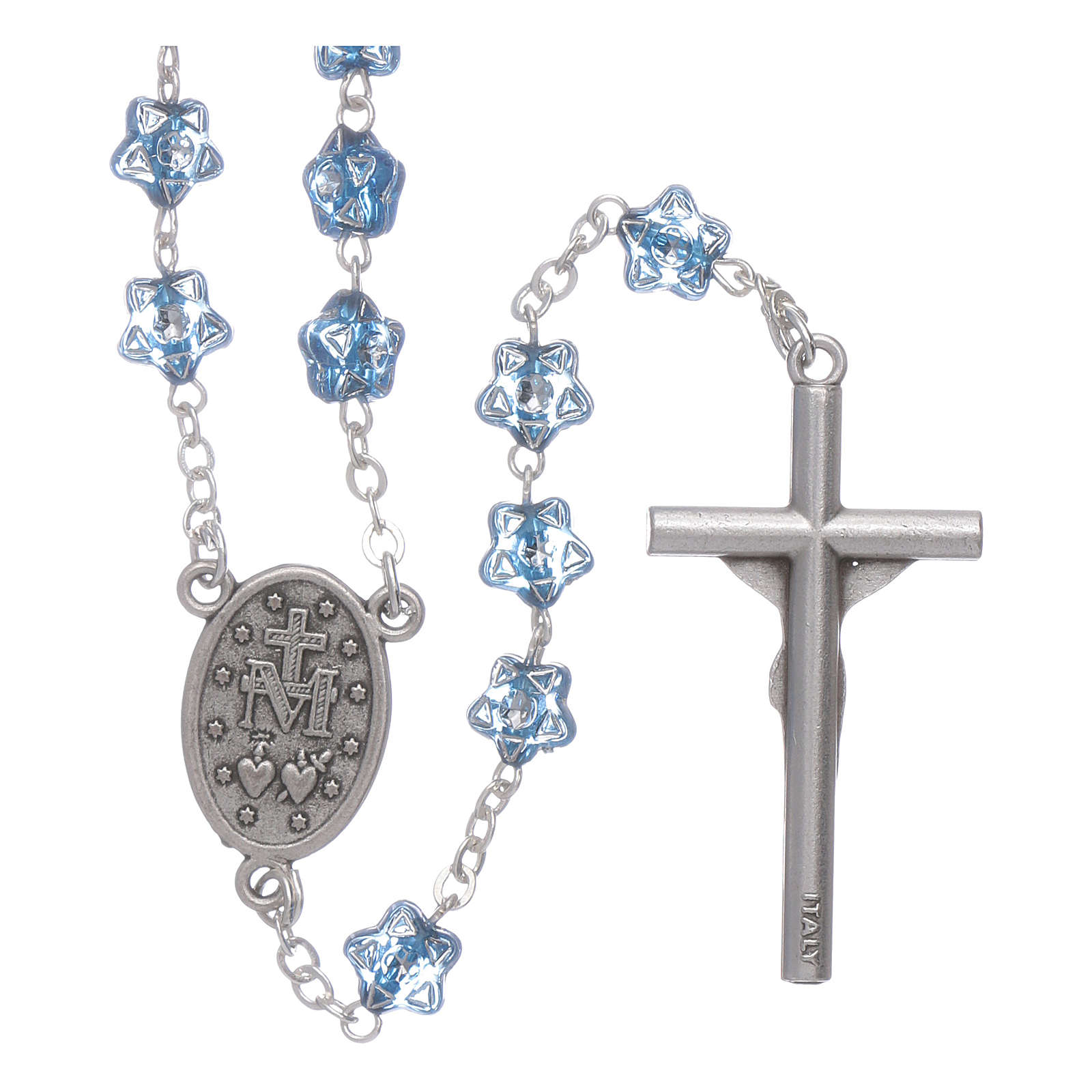 Rosary beads for children with star shaped beads 4