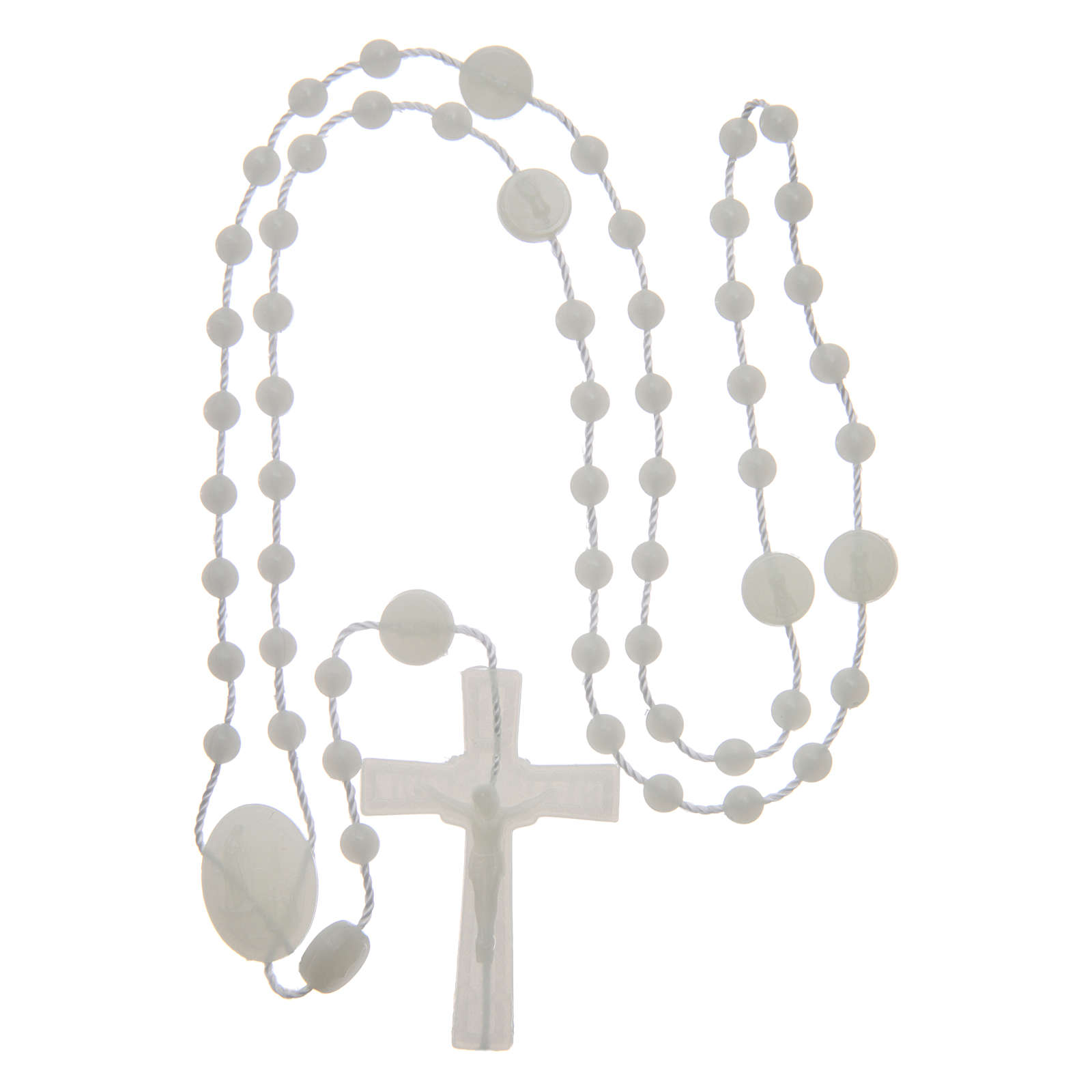 Our Lady of Fatima rosary phosphorescent 6 mm 4