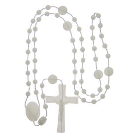 Our Lady of Fatima rosary phosphorescent 6 mm s4