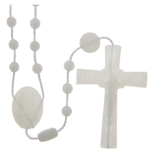 Our Lady of Fatima rosary phosphorescent 6 mm 2
