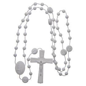 Rosario nylon blanco Nuestra Señora de Fatima 6 mm s4