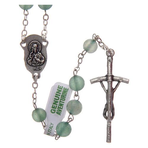 Rosary in aventurine 6 mm 2