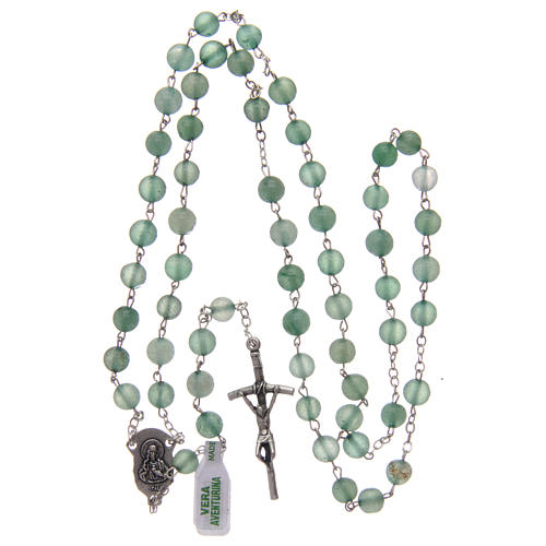 Rosary in aventurine 6 mm 4