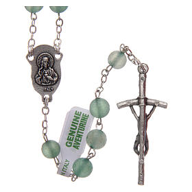 Rosary with aventurine 6 mm s2