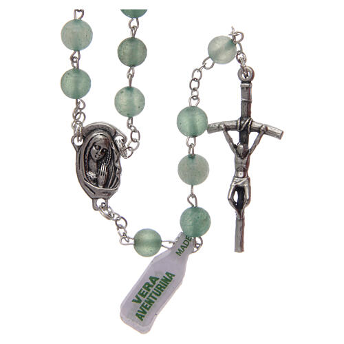 Rosary with aventurine 6 mm 1