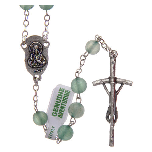 Rosary with aventurine 6 mm 2