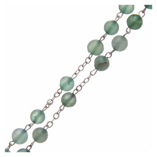 Rosary with aventurine 6 mm 3