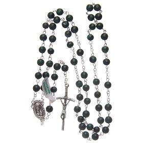 Malachite rosary beads 6 mm s4