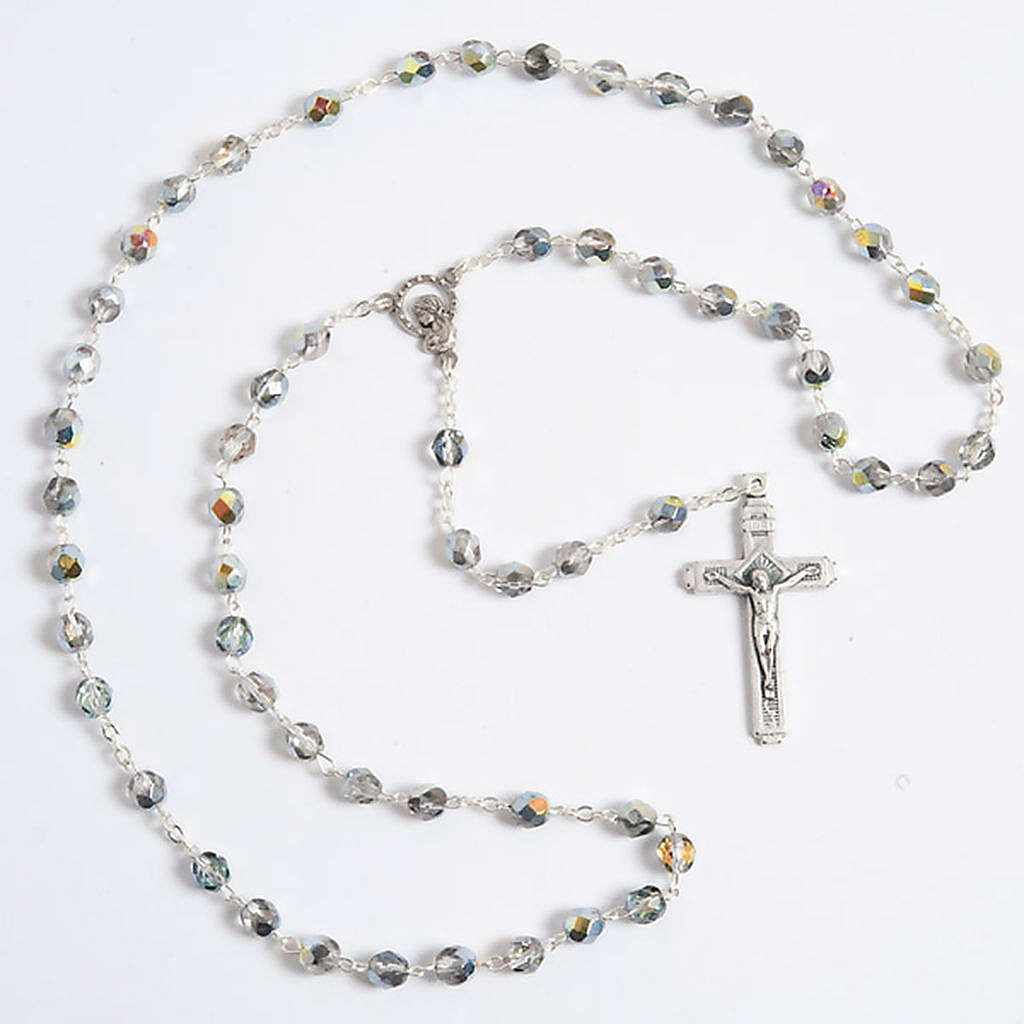 Crystal effect rosary 4
