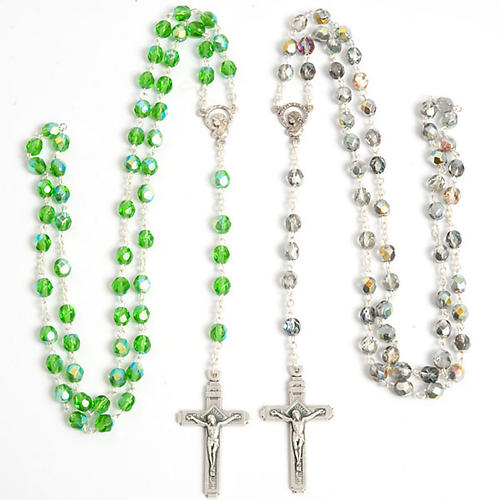 Crystal effect rosary 1