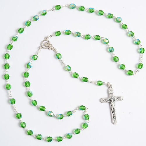 Crystal effect rosary 2