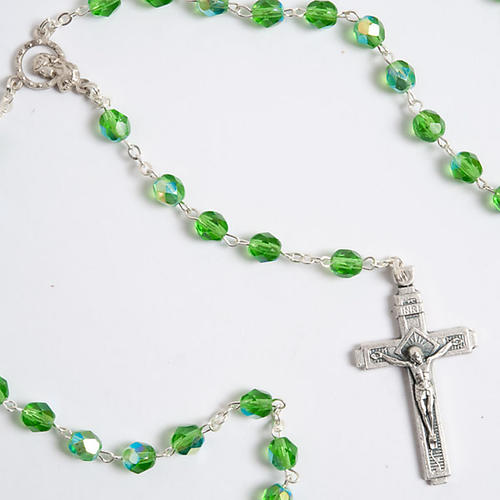 Crystal effect rosary 3