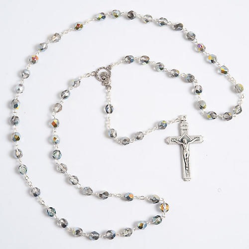 Crystal effect rosary 5