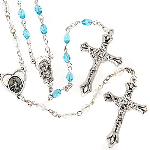 Crystal rosary beads 1