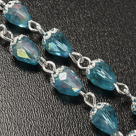 Chapelet en perles cristal goute d'eau s4