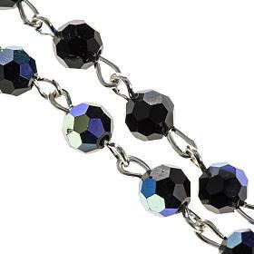 Chapelet cristal noir 6 mm s2