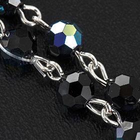 Chapelet cristal noir 6 mm s5