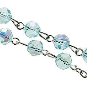 Chapelet cristal 6 mm eau s2