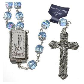 Chapelet cristal 7 mm Lourdes s2