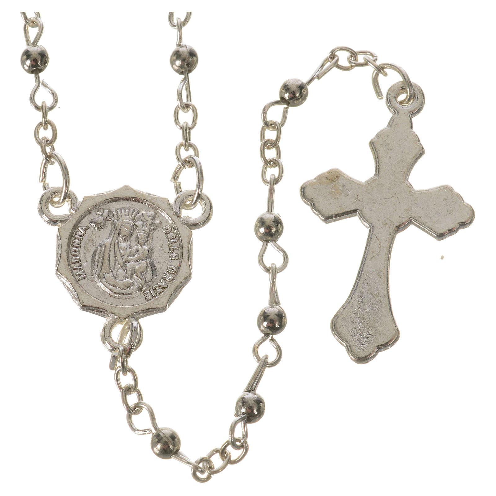 Chapelet Saint Pio grains 3mm 4