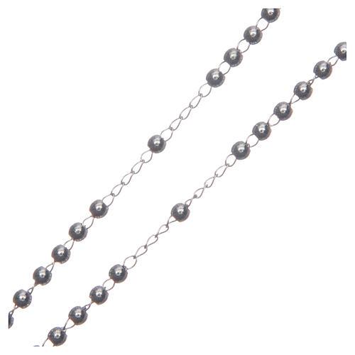 Chapelet classique couleur silver acier 316L 3