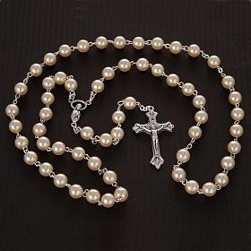 Rosario cuentas perla 8 mm s2