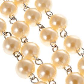 Rosario cuentas perla 8 mm s3