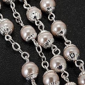 Rosario simil-perla Primera Comunión s2