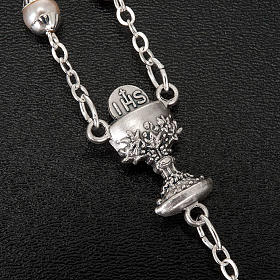 First Communion pearl effect rosary s3