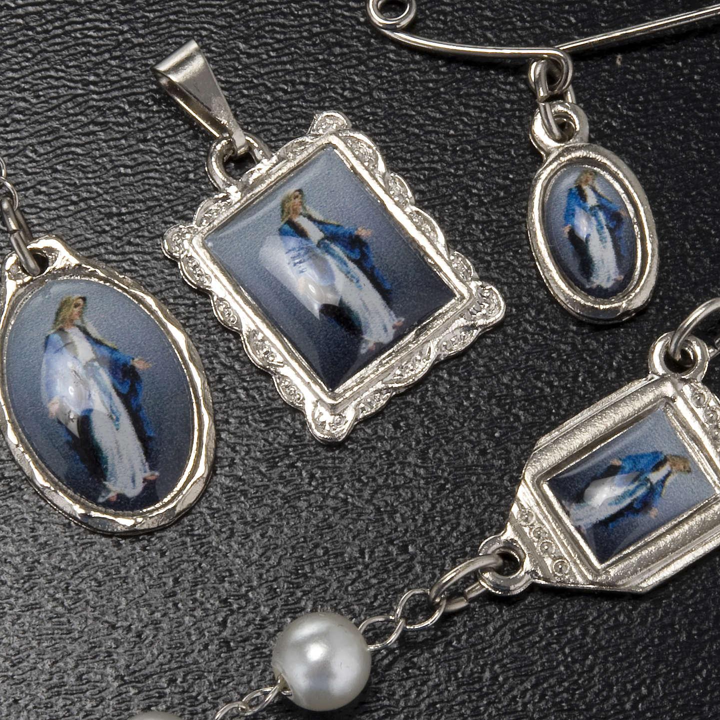 Kit, rosario, decena, medallas de la Virgen de la Milagrosa 4