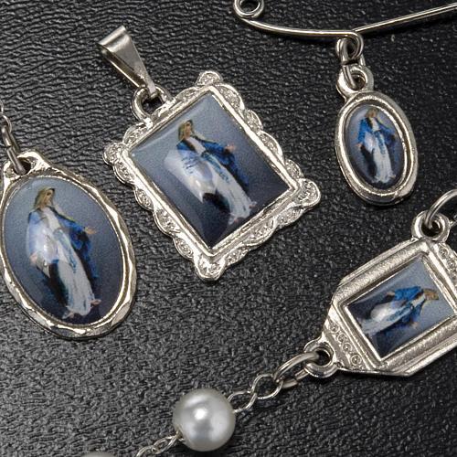 Kit, rosario, decena, medallas de la Virgen de la Milagrosa 2
