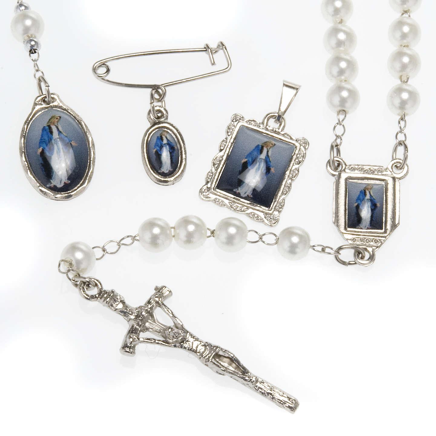 Rosario, decina, medaglie Madonna Miracolosa 4