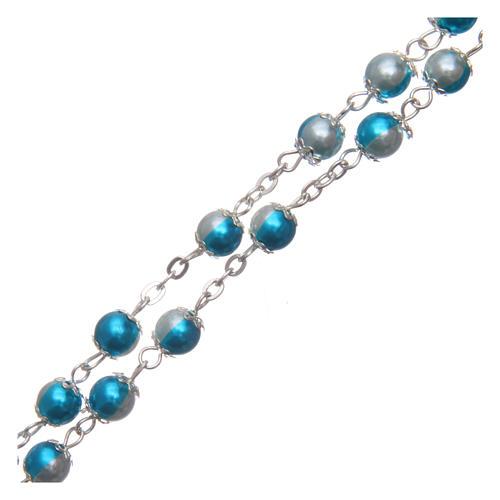 Rosario simil perla 6 mm 3