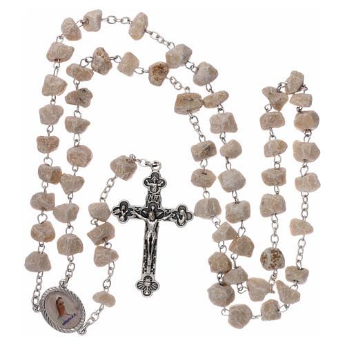 Chapelet Medjugorje  pierre, Vierge et Jésus 4