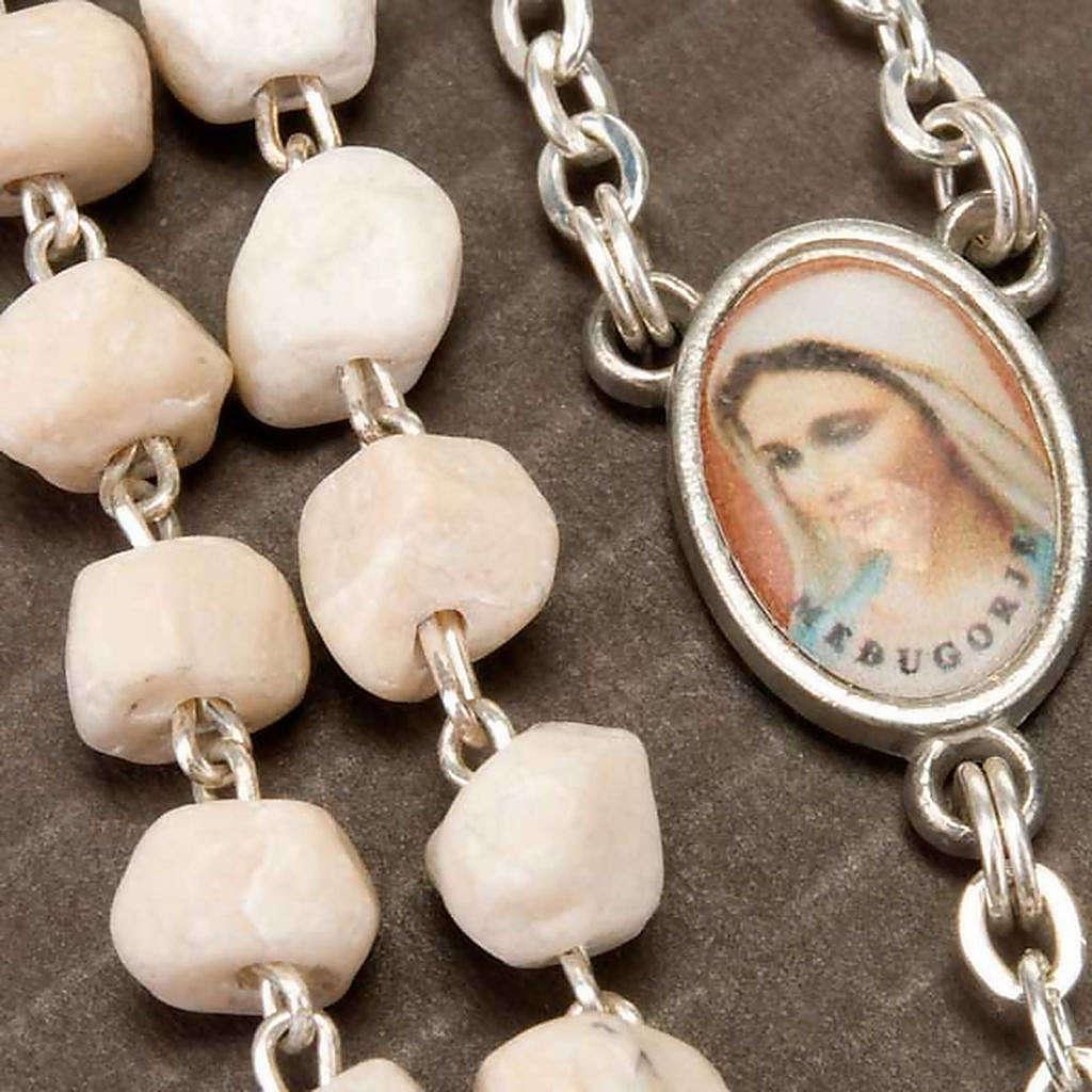 Rosario Medjugorje pietra Madonna Gesù 4