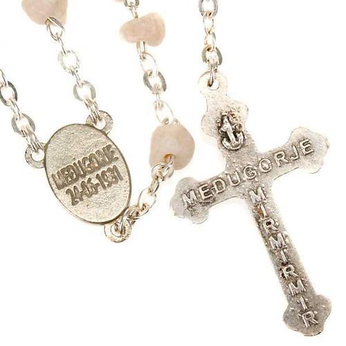 Rosario Medjugorje pietra Madonna Gesù 2